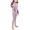 Icebreaker Oasis Ondergoed onderlijf Kinderen violet